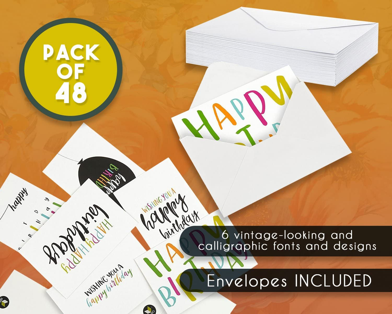 """B Cartes /""""Joyeux Anniversaire/"""" 75 ans ! enveloppes"""
