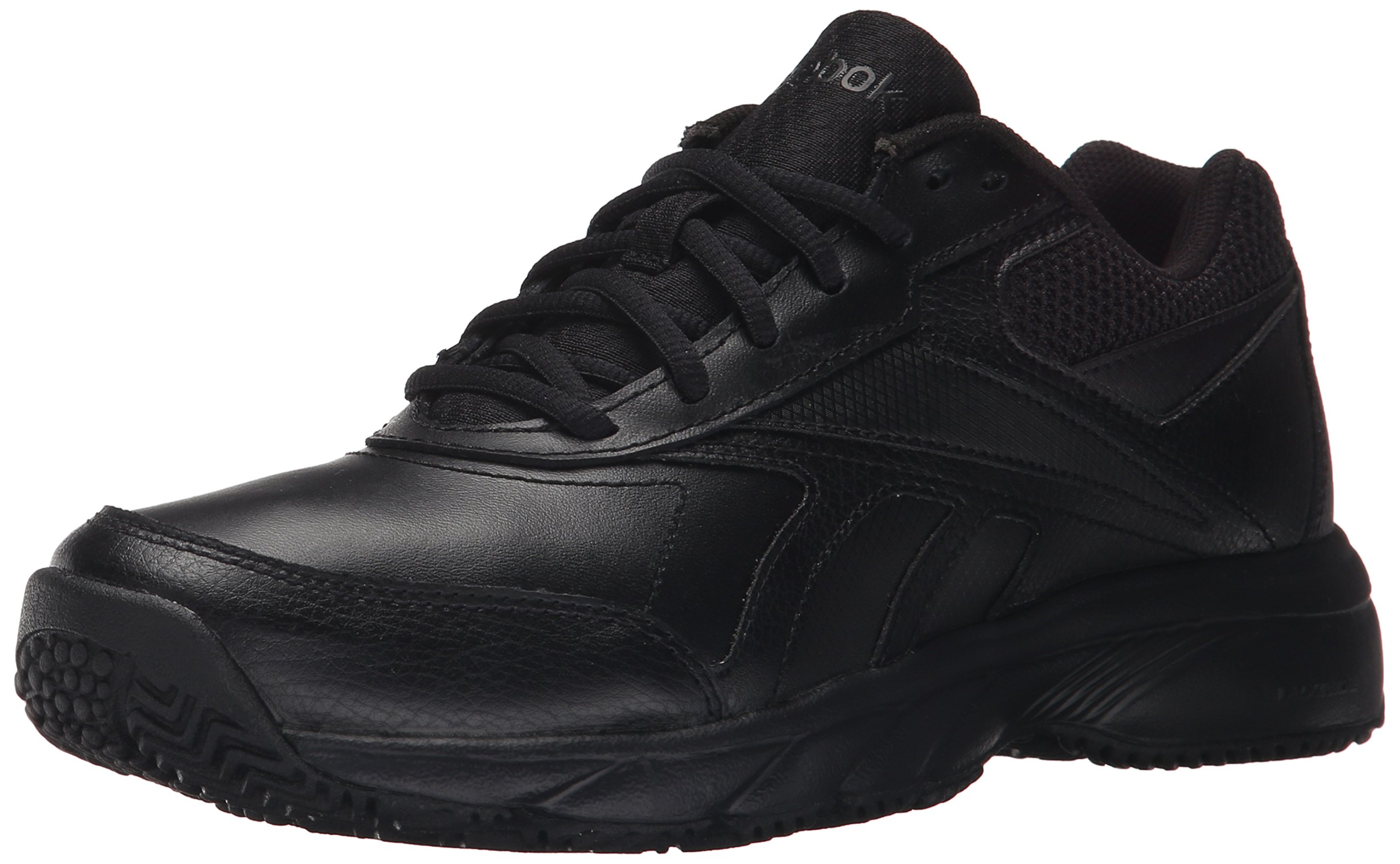 Reebok Women's Work N Cushion 2.0 Walking Shoe, Black/Black, 7.5 M US