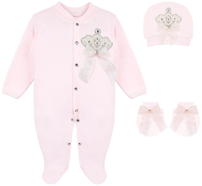 新発売 Lilax Crown SLEEPWEAR ベビーガールズ 0 - 3 Months Pink 3 Crown Months B076F9FK8B, men'sホーマン:2d6ef0f2 --- a0267596.xsph.ru