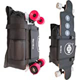 GoRide Electric Longboard Skateboard Backpack Bag Carrier with Laptop Holder
