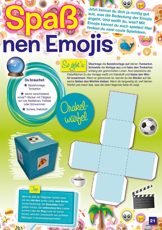 Das große Buch der Emojis: Stickern, Rätseln, Spielen: 9783833234620 ...