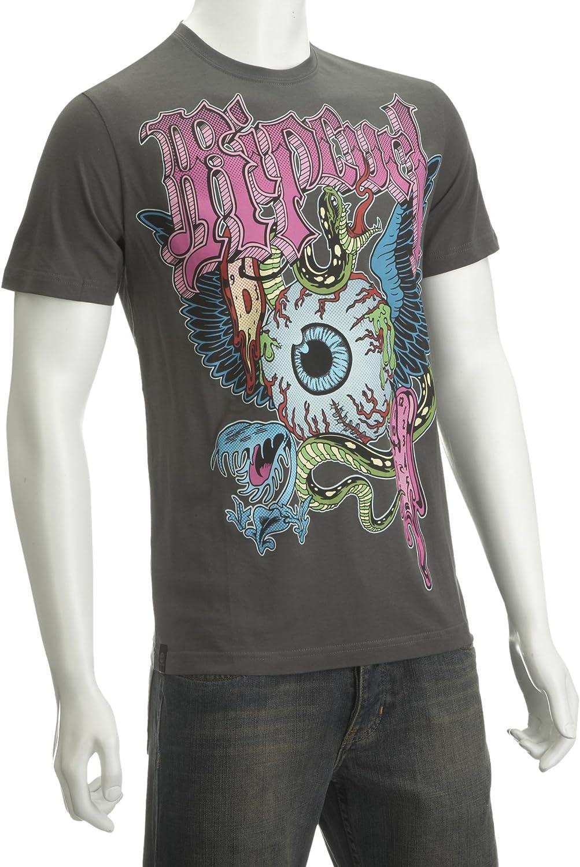 RIP CURL Ripcurl Warp SS – Camiseta gris impreso camiseta para hombre Gris Gris oscuro Talla:mediano: Amazon.es: Deportes y aire libre