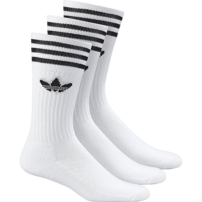 d7e40f60a adidas Originals Men's Solid Crew 3-Pack Socks: Amazon.ca: Clothing &  Accessories