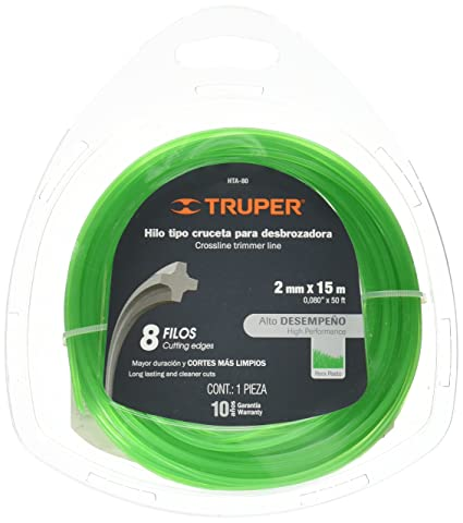 TRUPER HTA-80 Cross Section String Trimmers Lines 5/64