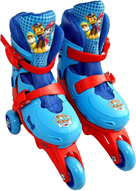 足。 Patrol TRI in LINE トランスフォーマブルスケート靴 3輪付き 公式ライセンス商品