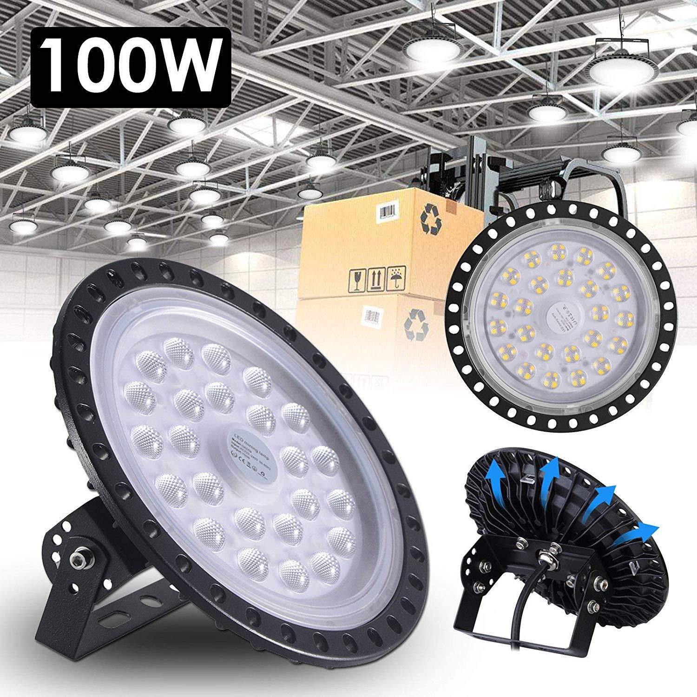 UFO LED Hallenstrahler 100W 200W 300W Hallenleuchte Hallenbeleuchtung Werkstatt