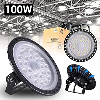 UFO LED Lighting High 100W 10000LM Reflector para exteriores LED ...