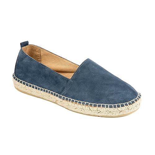 weltenmann | Alpargatas Slip-on Premium para Hombre en Serraje: Amazon.es: Zapatos y complementos