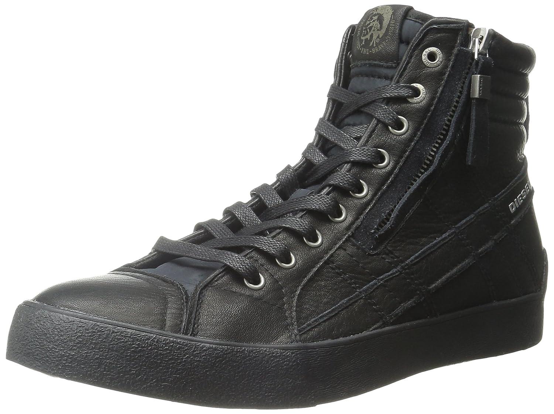 (ディーゼル) DIESELメンズ ハイカット レザースニーカー D-VELOWS D-STRING PLUS - sneaker mid B014WPUWRY
