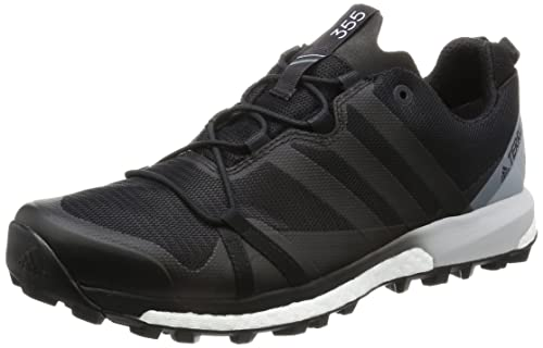 Adidas Terrex Agravic, Zapatillas de Senderismo Para Hombre, Negro (Negro-(Negbas/Negbas/Amabri)), 42 2/3 EU