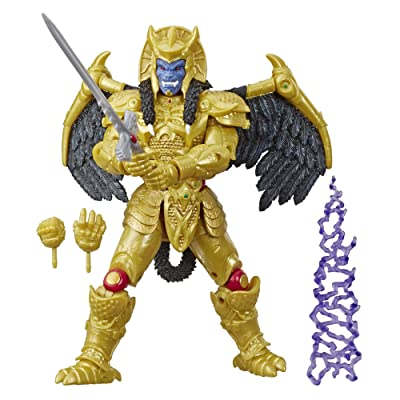 Power Rangers Saban's Lighting Collection Goldar: Toys & Games