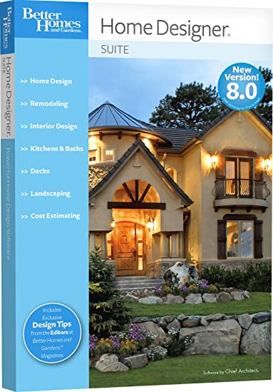 Better Homes and Gardens Home Designer Suite 8.0 [OLD VERSION ...