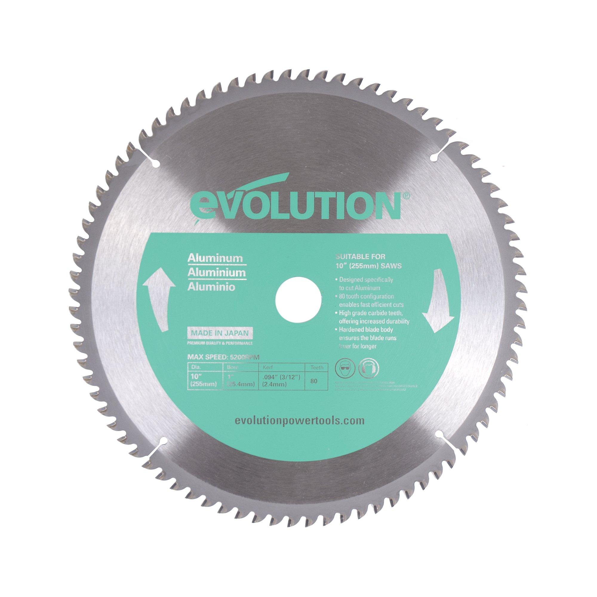 Evolution Power Tools 10BLADEAL Aluminum Blade, 10''