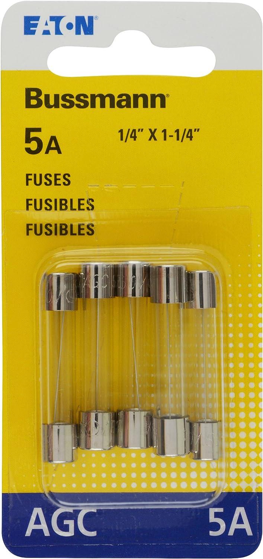 5 AGC 2 Full Pack Bussmann Fuse