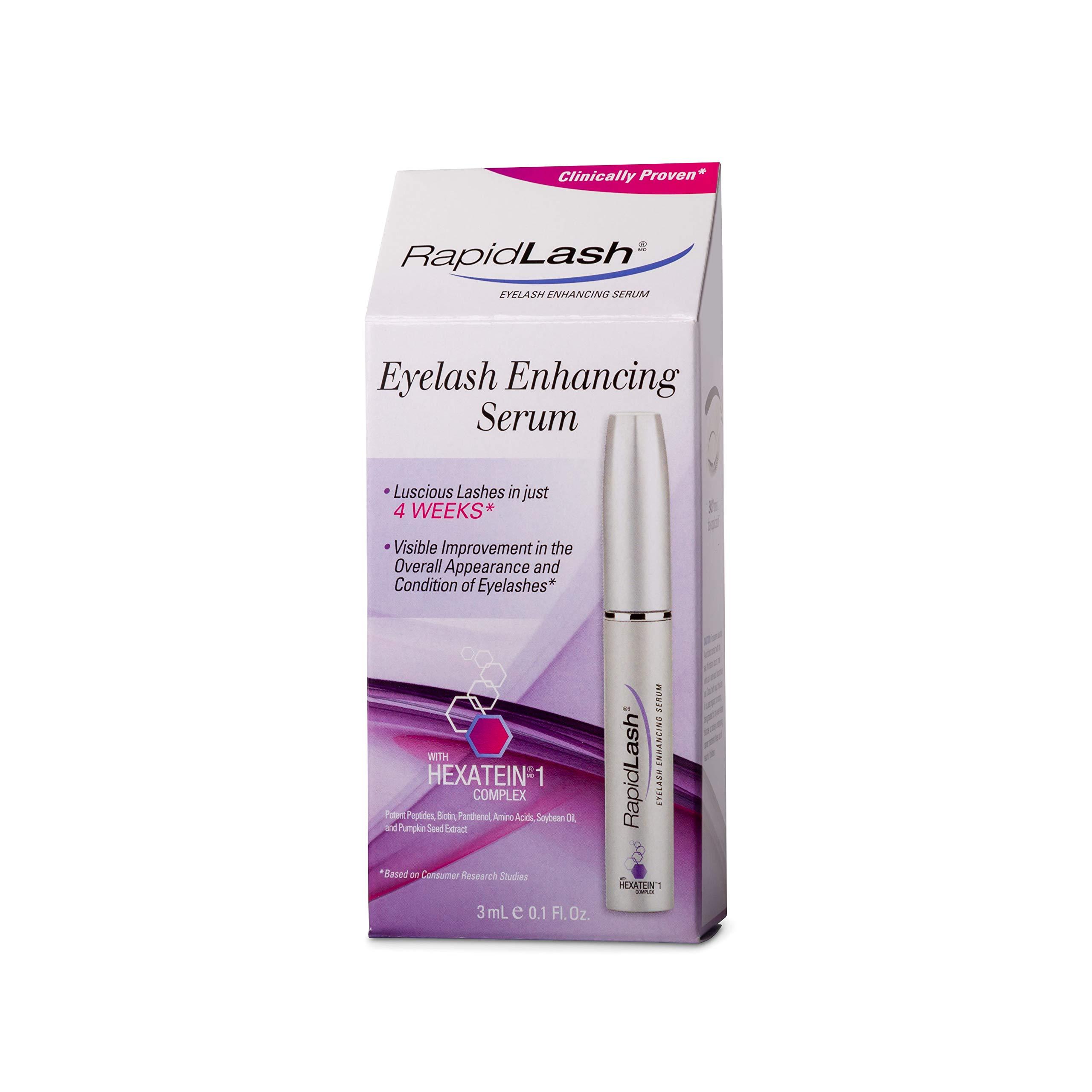 Rapidlash Eyelash and eyebrow serum with free eyeliner brush, 0.1 Fluid Ounce by RapidLash (Image #3)