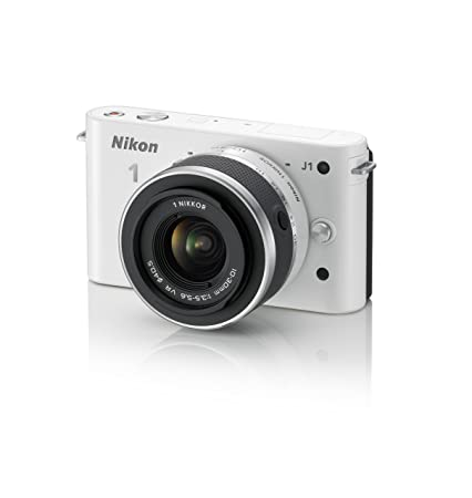 1a5858207 Amazon.com : Nikon 1 J1 Digital Camera System with 10-30mm Lens (White)  (OLD MODEL) : Compact System Digital Cameras : Camera & Photo