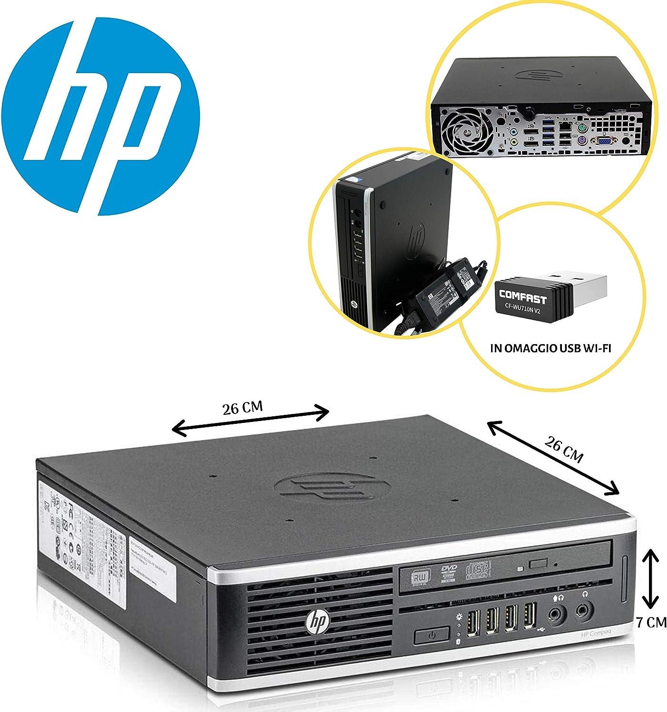 PC HP 8300 USDT Intel Core I5 3470S 2,90GHZ/8GB/120GB SSD/DVD/Win ...