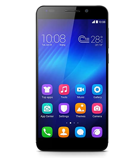 Huawei Honor 6 H60-L04 (Black, 16GB)(Certified Refurbished) Smartphones at amazon