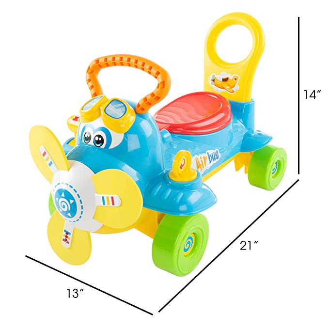 Amazon.com: Lil Rider Ride On Toy Airplane - Patinete ...