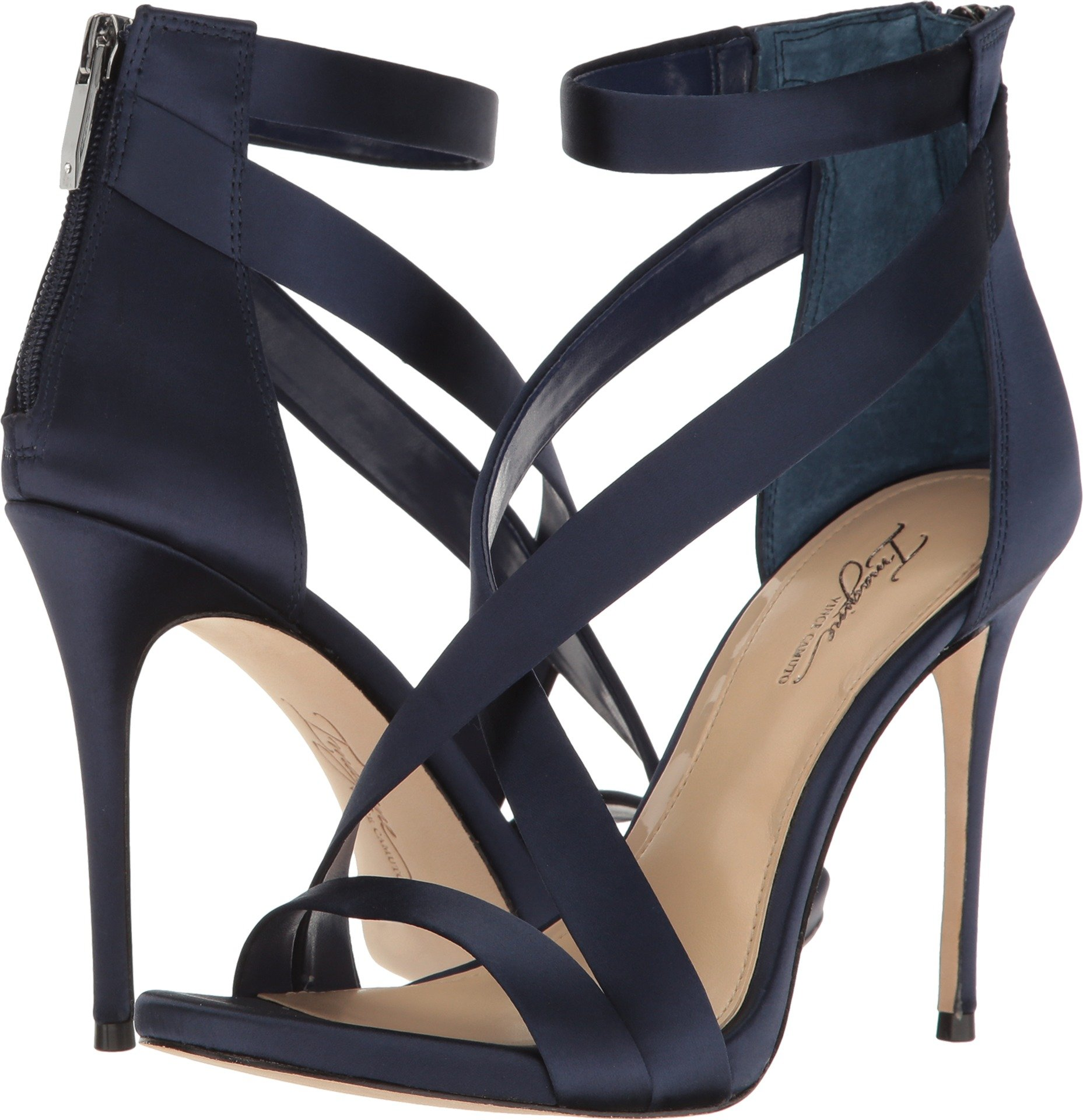 Imagine Vince Camuto Women's Devin Inkwell Blue Deluxe Satin 5.5 M US by Imagine Vince Camuto