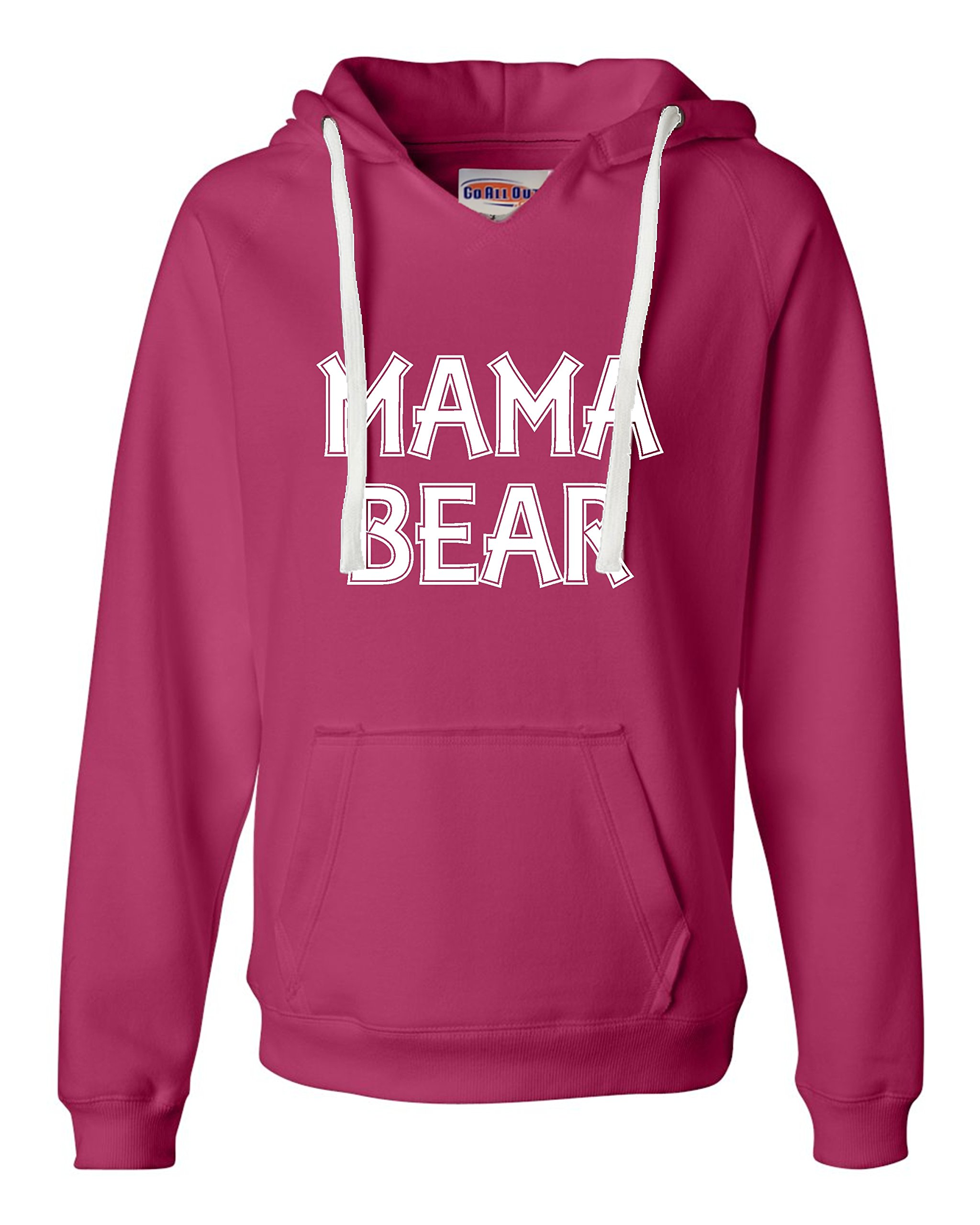 Mama Bear Funny Mommy Bear Deluxe Soft Shirts