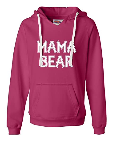 Mama Bear Funny Mommy Bear Deluxe Soft Shirts