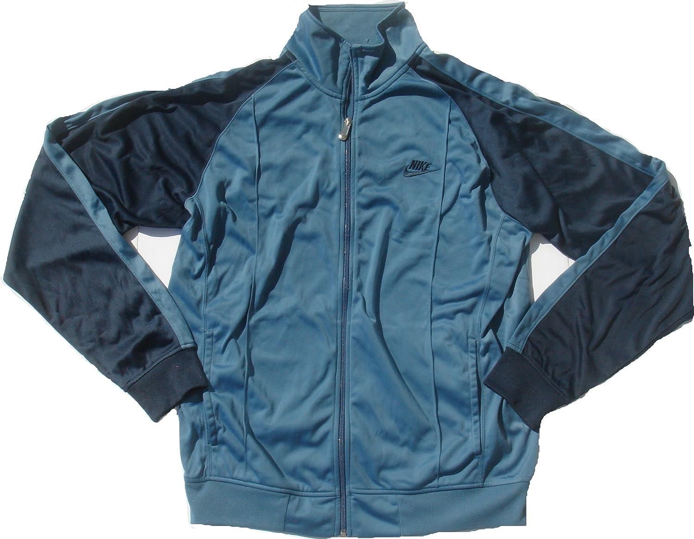 convertible Tesoro Interpretación  Amazon.com: Nike Legend Dri-FIT Poly Men's Training Jacket Blue: Clothing