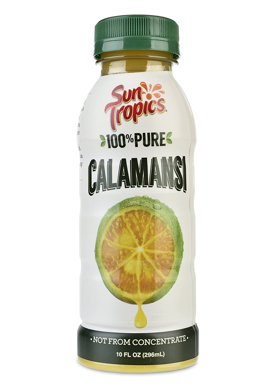 Sun Tropics 100% Pure Calamansi Puree (Undiluted), 10 Oz. (Pack of 3)