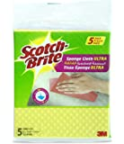 Scotch-Brite Sponge Cloth ULTRA  - Pack of 5