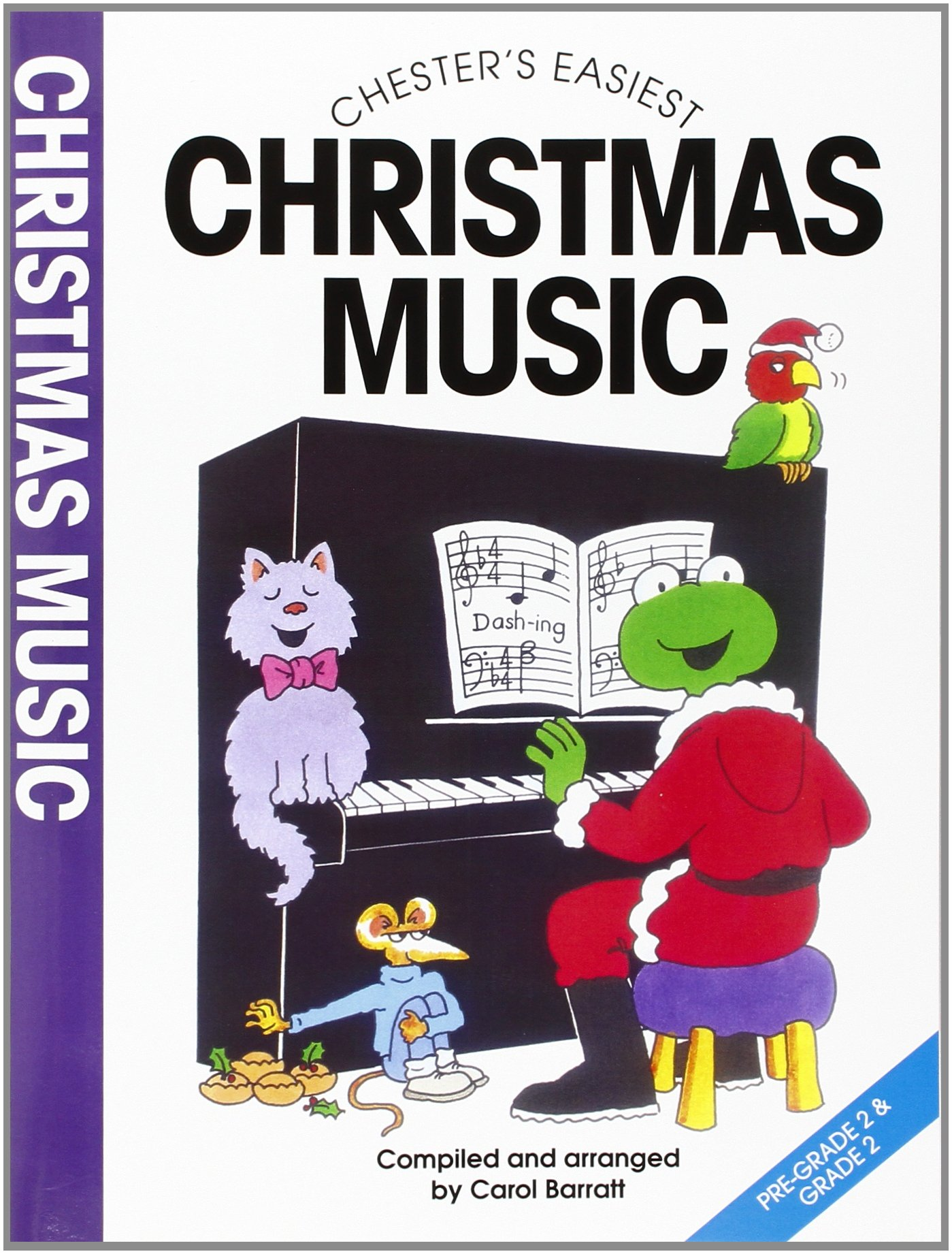 Carol Barratt christmas CHESTER/'s EASIEST CAROLS Grade pre-1