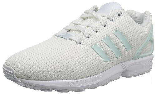 a0e57bd37701a adidas Originals Women s ZX Flux W Running Shoe White