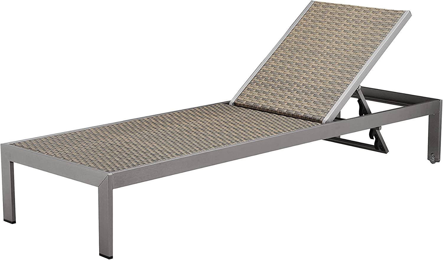 Pangea Home Chester Lounger, Brown