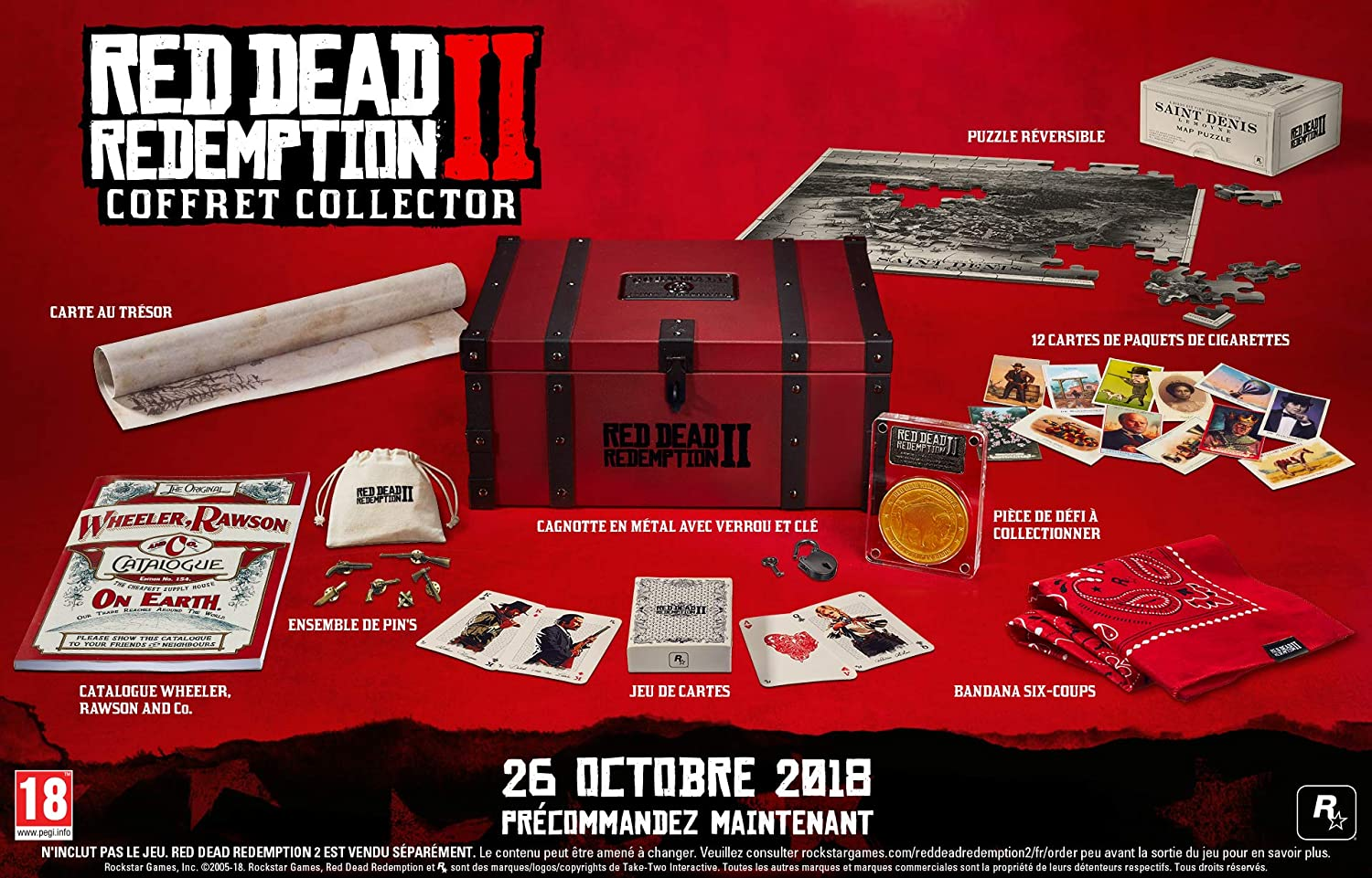 Red Dead Redemption 2 Coffret Collector [Importación francesa ...