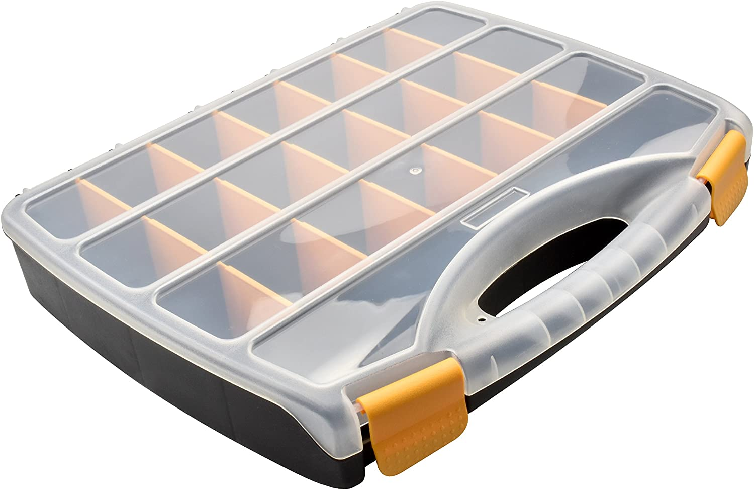 SE 21 Multiple Compartment Storage Container with Lid - 87119DB