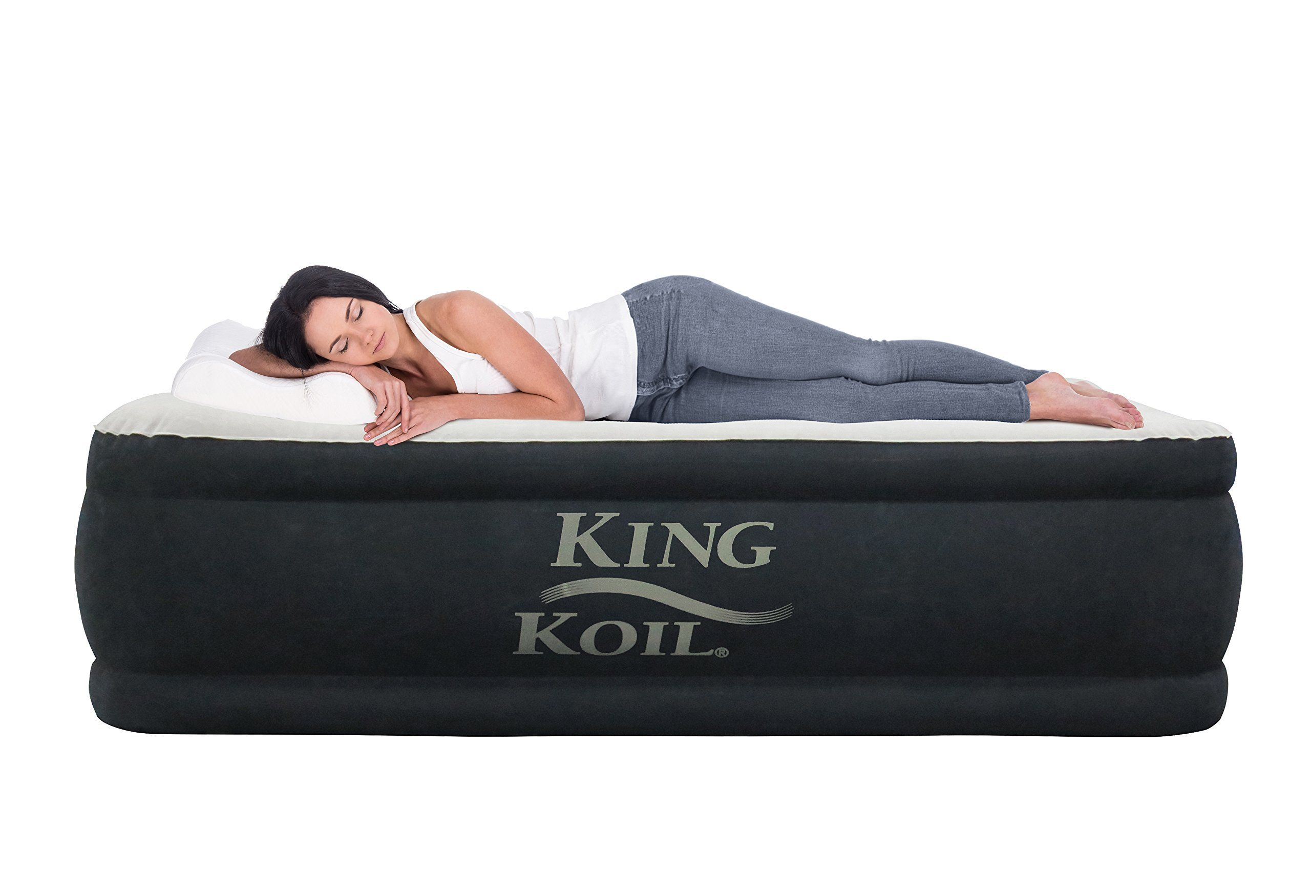amazon queen beige raised insta dp sports never outdoors air bed mattress with flat pump ca