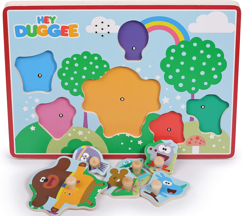 Hey Duggee 1016 Wooden Sound Puzzle