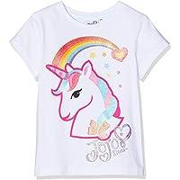 Jojo Siwa Girl's Bow, Glow and Ready to go T-Shirt, Pink
