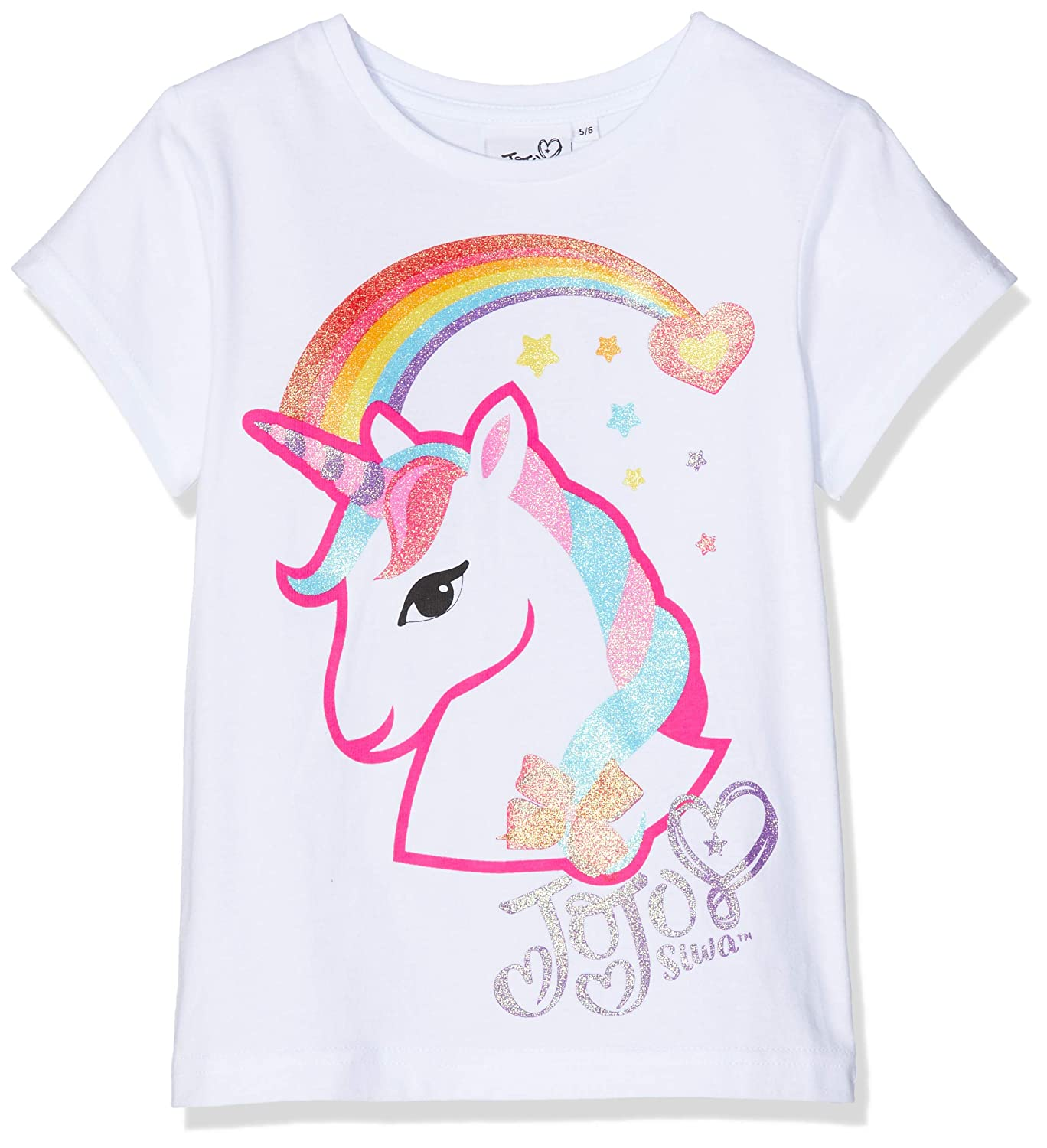 Jojo Siwa Bow, Glow And Ready To Go, T-Shirt Bambina MO50817