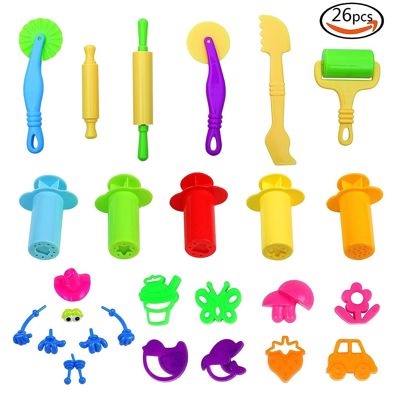 plastico plastilina moldes con de extrusin y moldes de formas de animales y plantas juegos de imitacin juguetes educativos para nios
