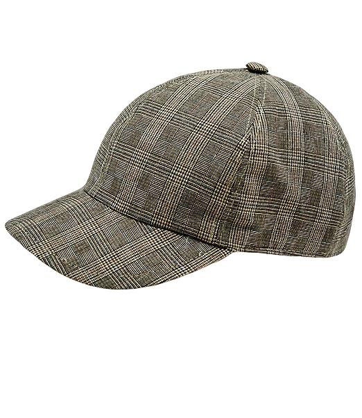 EveryHead Fiebig Basecap per Ragazzi Baseball Protezione di Estate Berretto  con Visiera Abbigliamento Strada A Quadri e1699e14c2fe