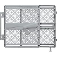 "Summer Indoor & Outdoor Multi Function Walk-Thru Baby Gate, Fits Openings 27.5""-42"" Wide, Gray Plastic, for Doorways and…"