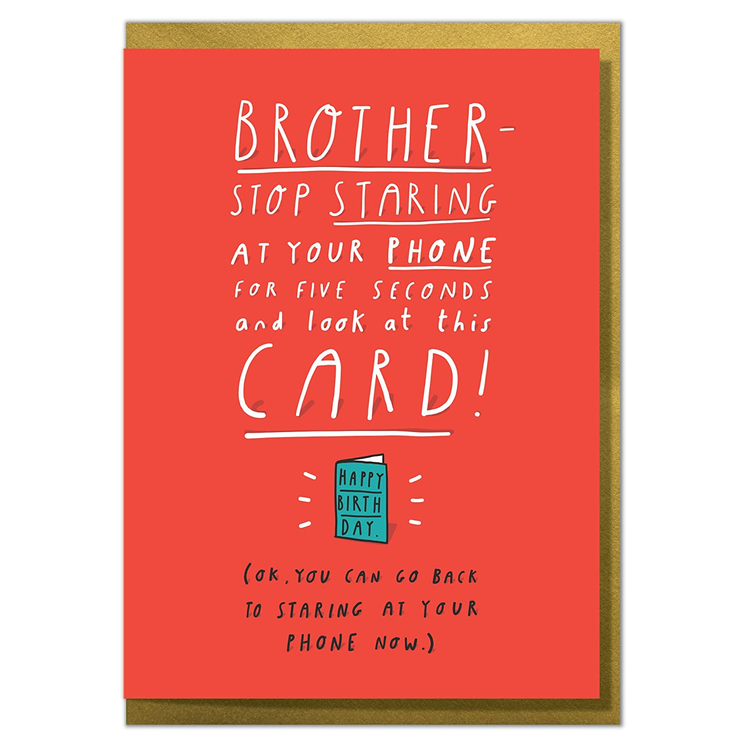 Embossed ~ /' To A Wonderful Brother/' Brother Birthday Card