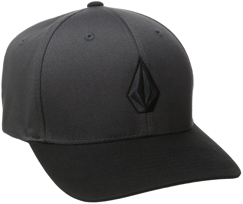 new concept cb410 f15a6 Volcom Men s Full Stone Flexfit Stretch Hat  Amazon.ca  Clothing    Accessories