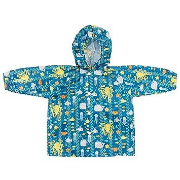 54237c230 Bumkins Baby Rain Jackets. Sea Friends Design.blue (6-18 months ...