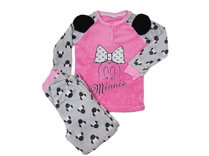 a basso prezzo 5f941 f5114 SUN CITY Pigiama Bambina Invernale Minnie Disney in Coral 8/10 Anni - Art.  7016