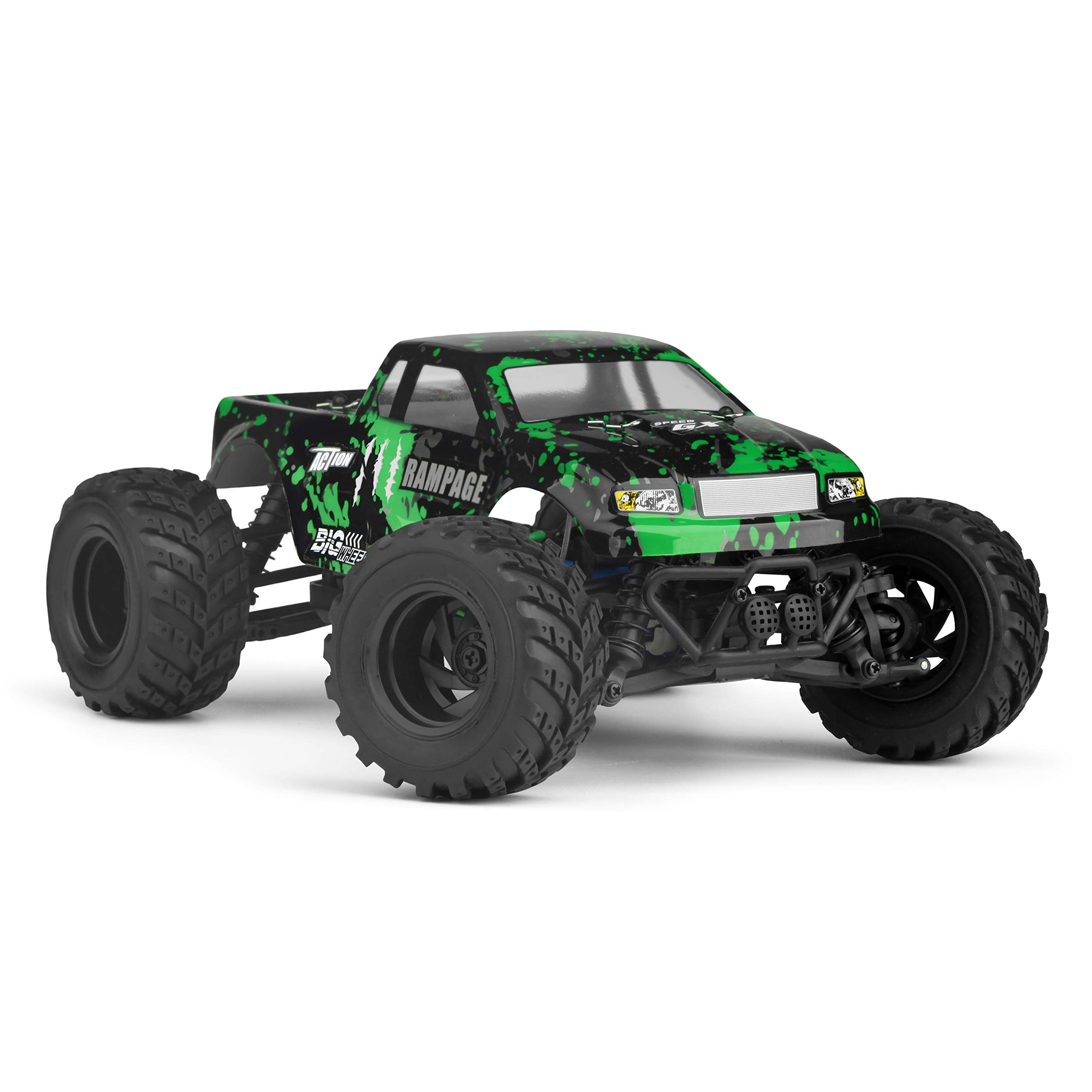 HBX 1:18 Scale All Terrain RC Car 18859E, 30+MPH High Speed 4WD Electric Vehicle with 2.4 GHz Radio Controller, Waterproof Off-Road Truck Included Battery and Charger by BBM HOBBY (Image #5)