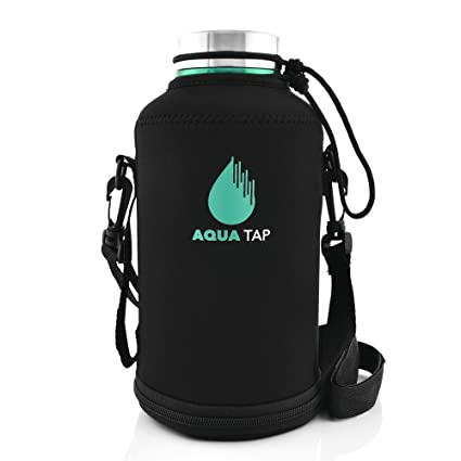 Amazon.com: aquatap Premium Acero Inoxidable 64 oz aislado ...
