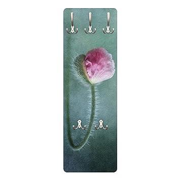 Bilderwelten Perchero - Flower in Pink - Slender 139x46x2cm ...