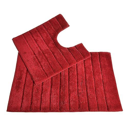 Red Bath Mat Amazon Co Uk