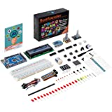 SunFounder Mega 2560 R3 Project Super Starter Kit For Arduino UNO R3 Mega2560 Mega328 Nano - Including 73 Page Instructions Book